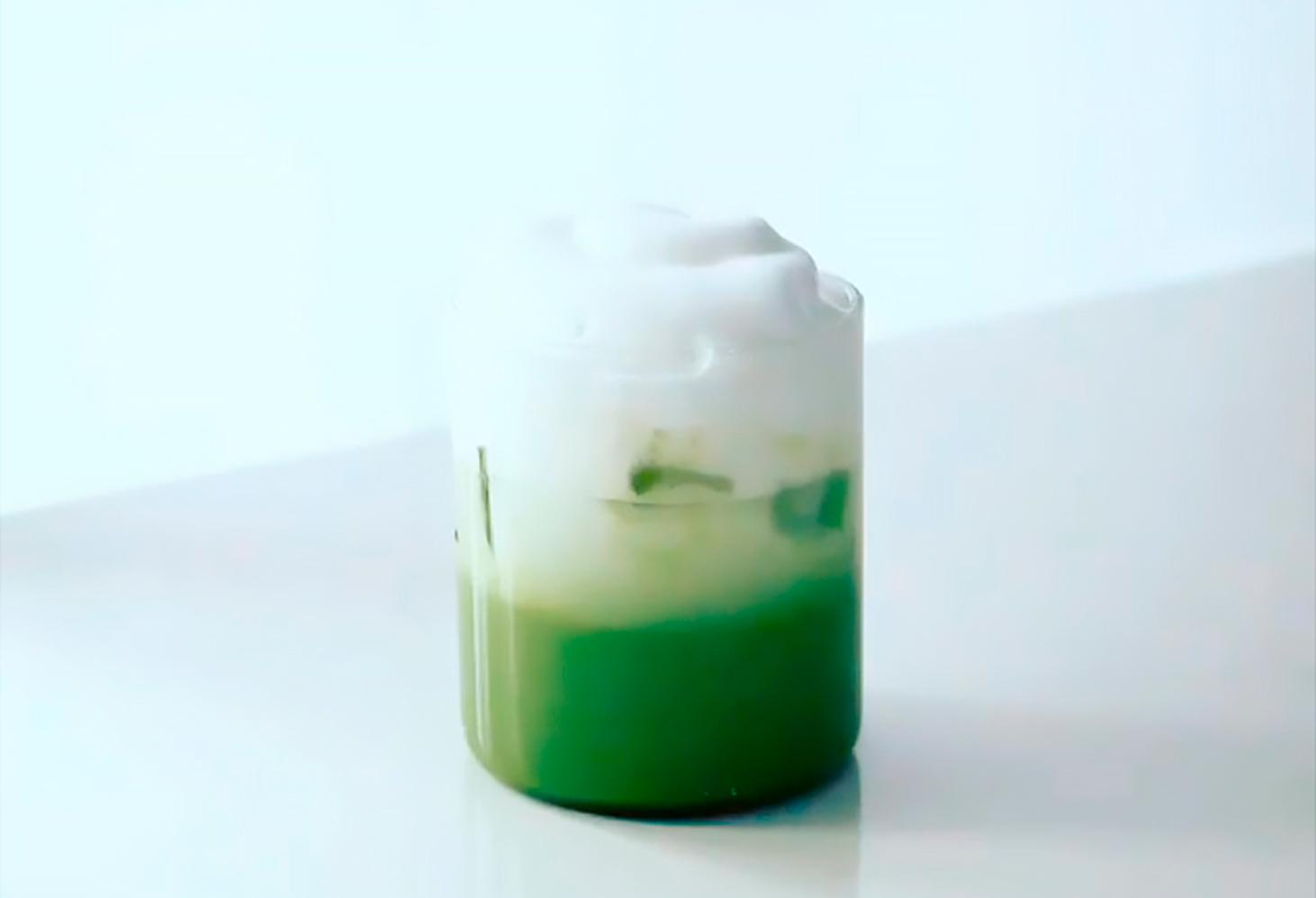 Matcha latte 1